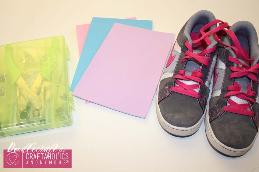 Tween Kid Craft Idea || DIY My Little Pony Shoe Wings tutorial with Free Printable Pattern
