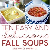 Ten Delicious and Easy Fall Soups