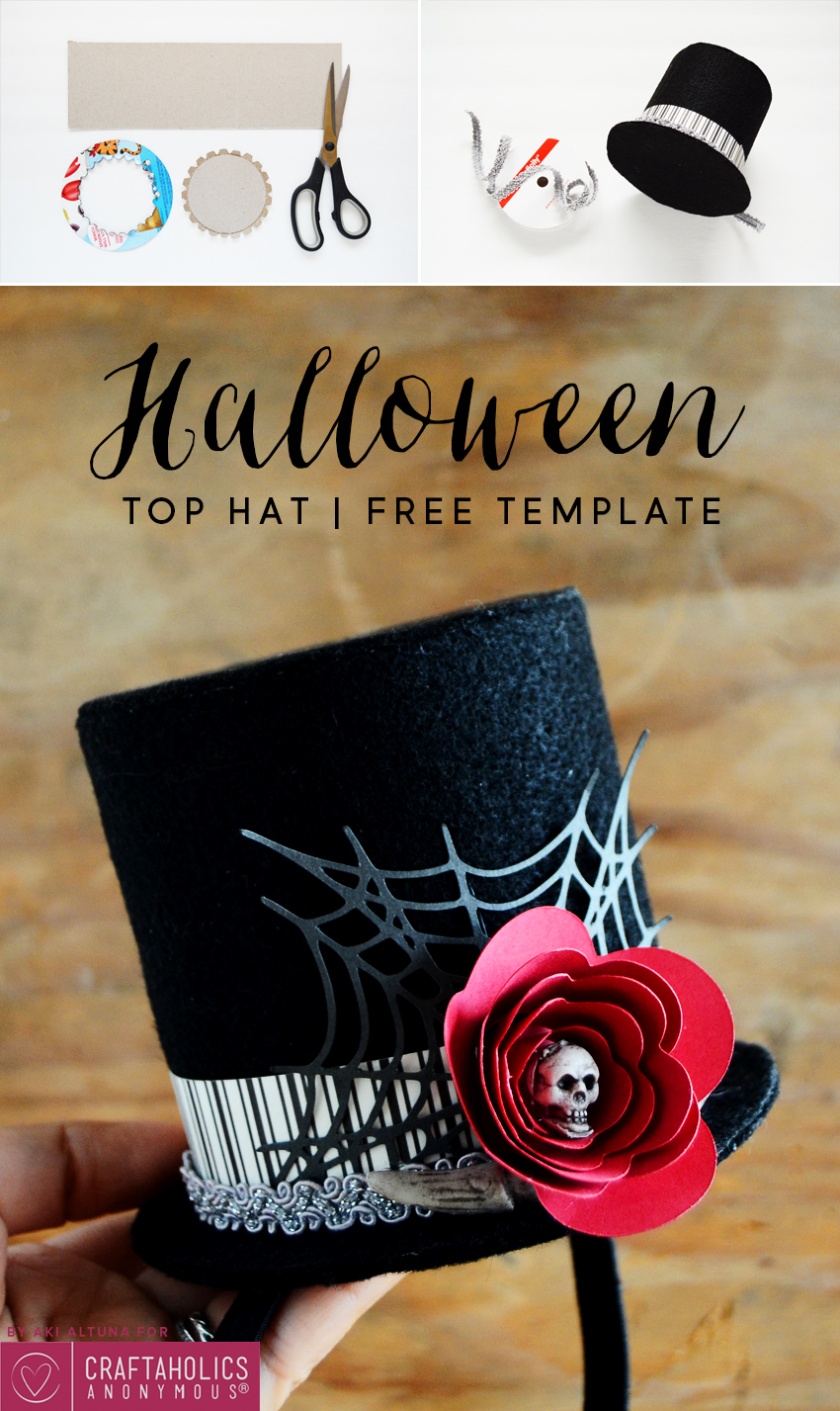 03ec2058442 Halloween Top Hat Tutorial    Make your own DIY hat for your costume this  year