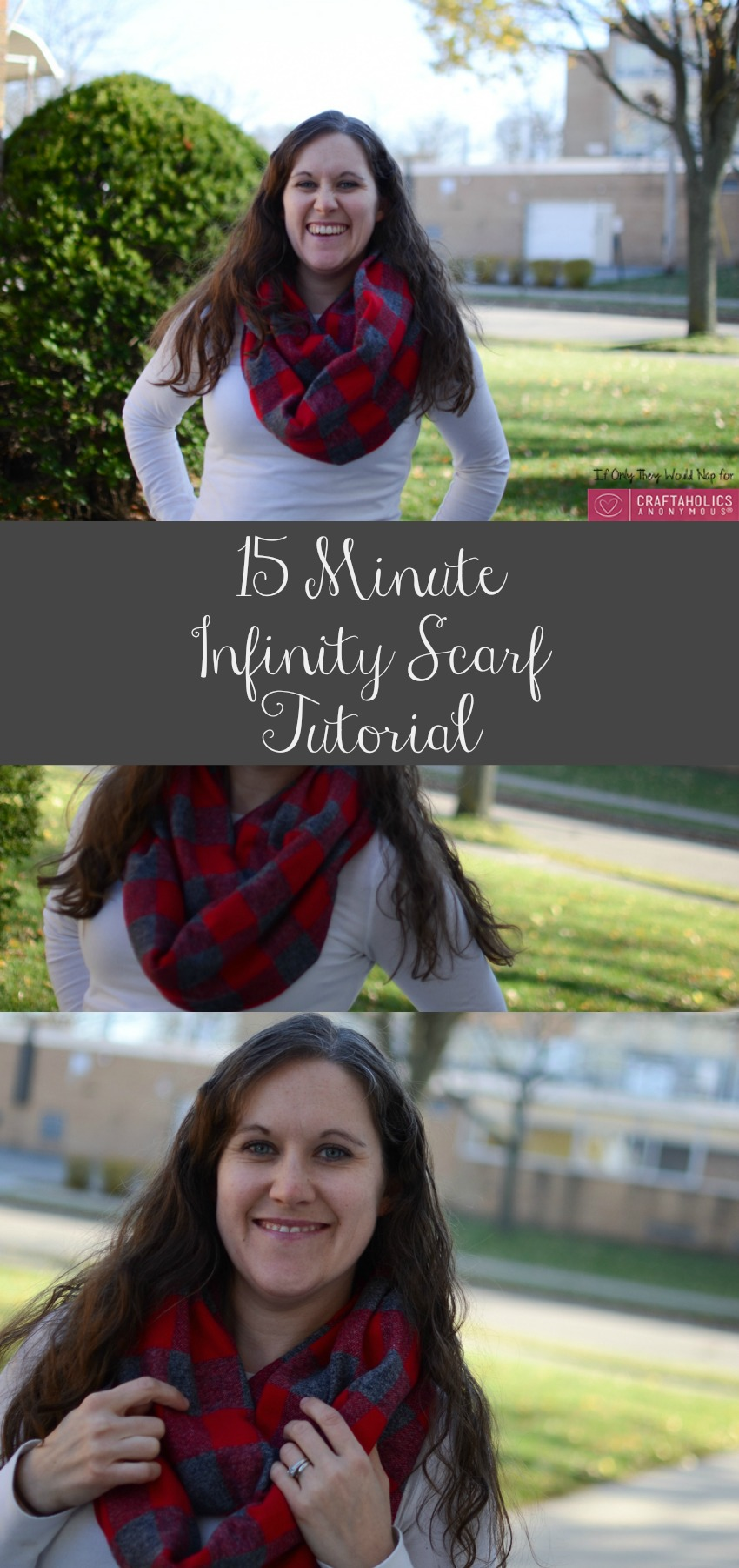 15 Minute Infinity Scarf Tutorial
