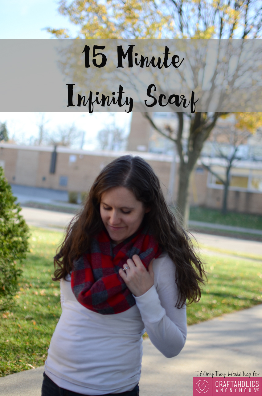 15 minute infinity scarf