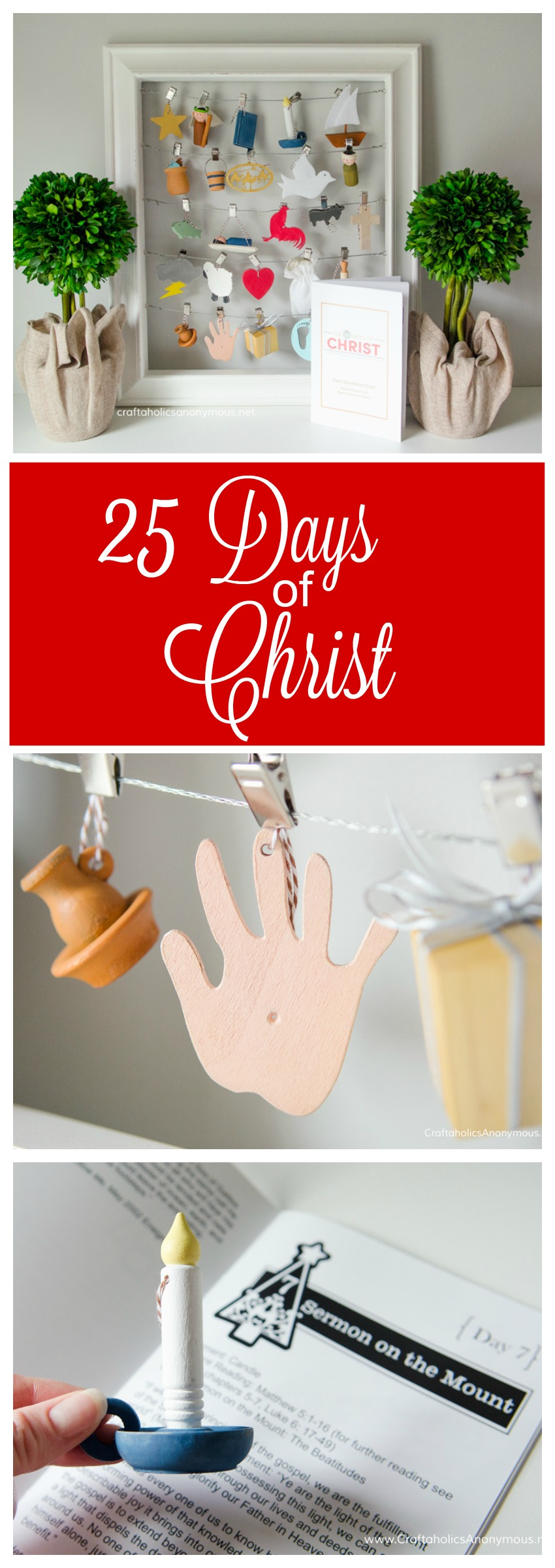 25 Days of Christ || Help your family keep Christ at the center of Christmas with this new family tradition!