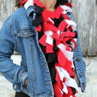 Easy Fleece Scarf
