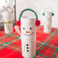 DIY TP Roll Snowmen-11