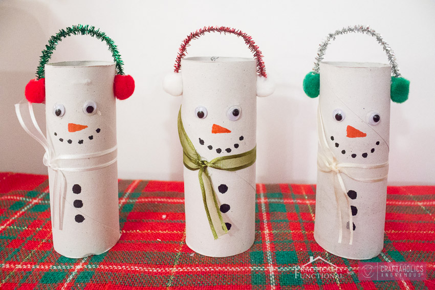 DIY TP Roll Snowmen-8