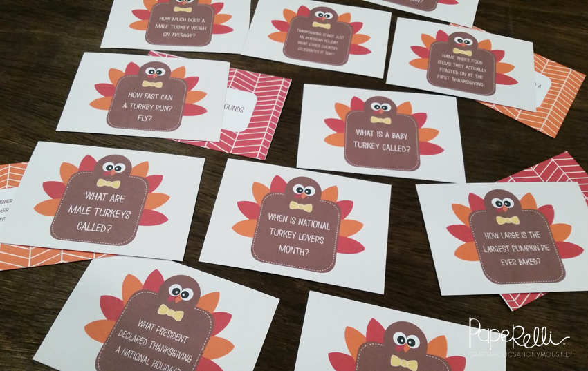 Printable Thanksgiving Trivia