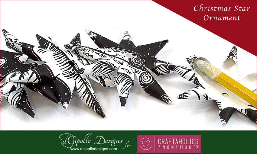 Polish Christmas Star Ornament dCipollo Designs