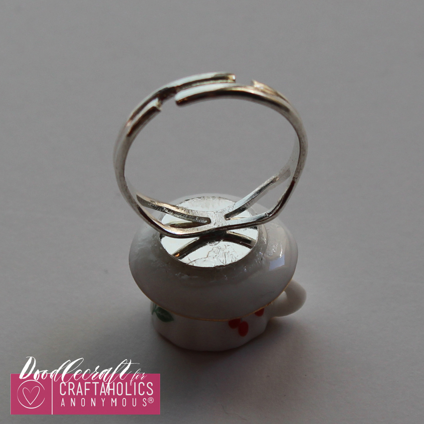 teacup tea set teapot jewelry easy diy heirloom ring necklace handmade gift (4)