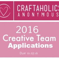 Call for 2016 Creative Team Applications