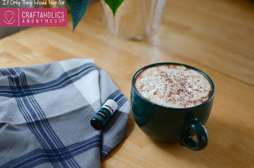 The best peppermint hot chocolate