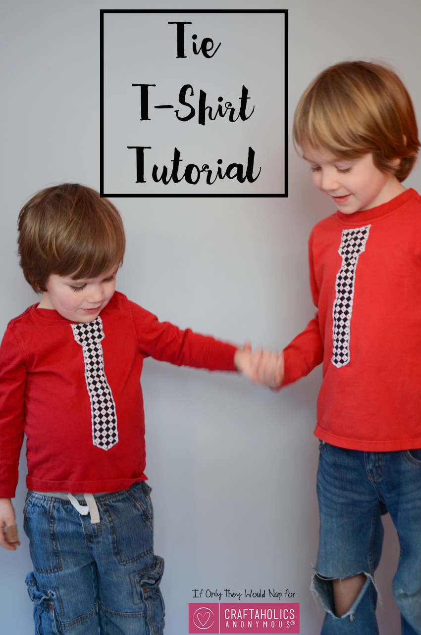 Craftaholics Anonymous Valentines Day Shirt Tutorial