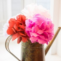 DIY Tissue Paper Flowers Tutorial