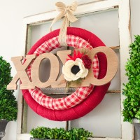 Valentine Wreath tutorial