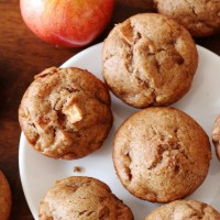 vegan banana apple muffins watermark (3)