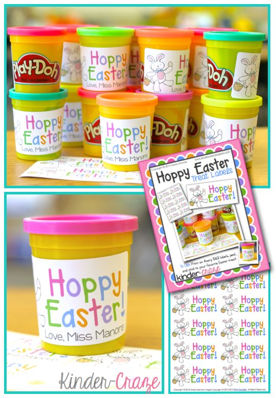 easter playdoh printable