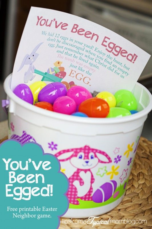easter prank printable