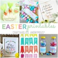 Free Easter Printables from craftaholicsanonymous.net