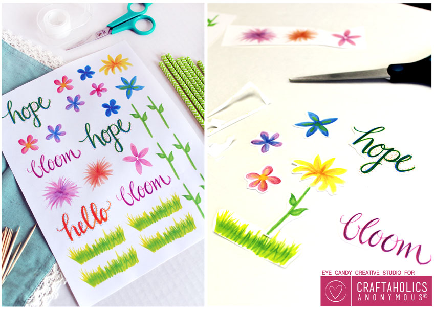 Spring Printables on Craftaholics Anonymous