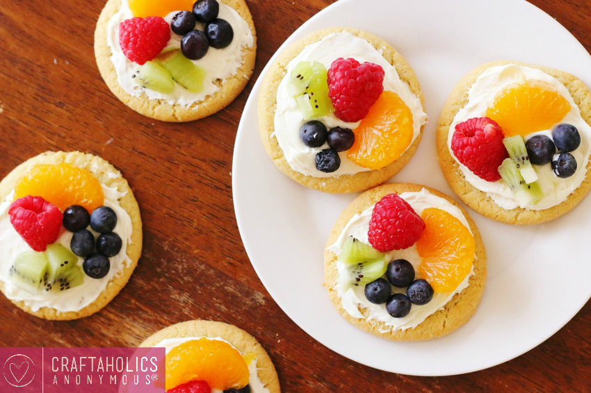 simple fruit tarts