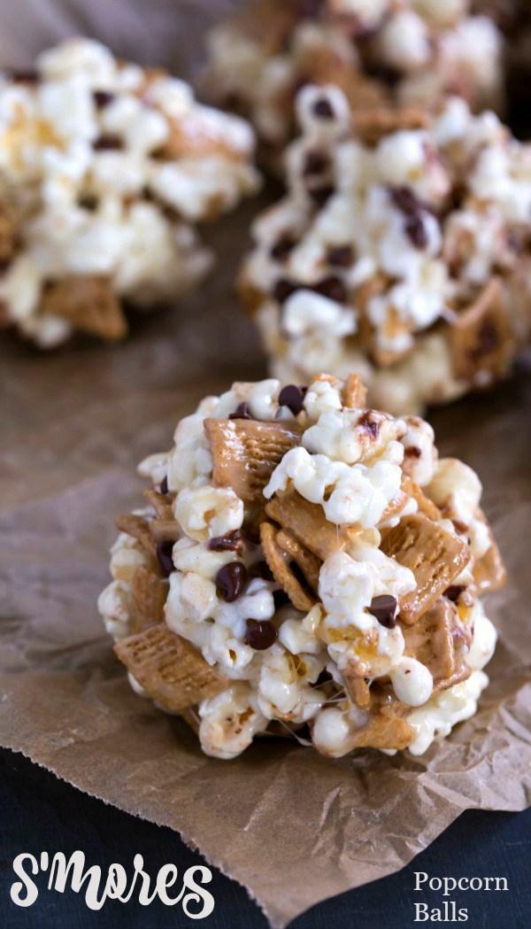 S'mores Popcorn Bars