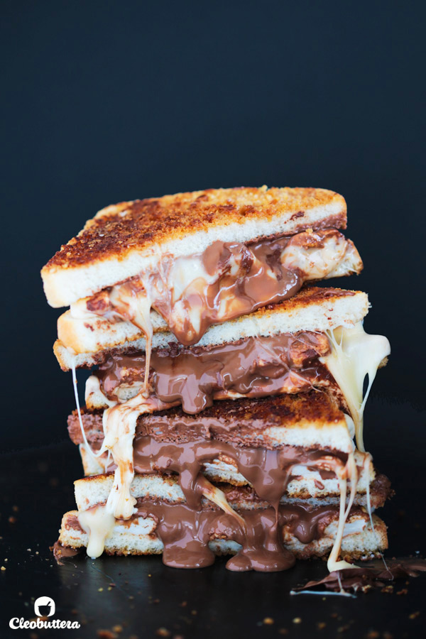 S'mores Grilled Sandwich