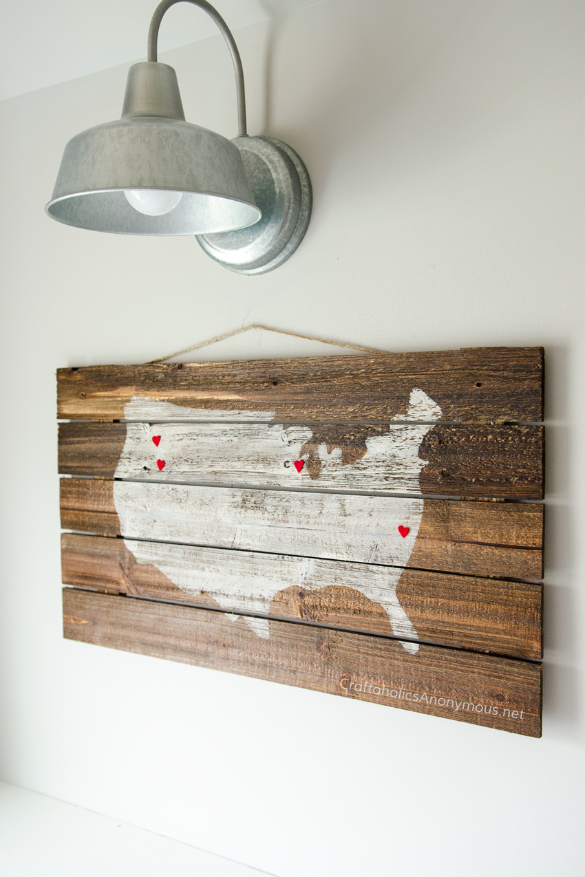 DIY Pallet Wood Sign Tutorial