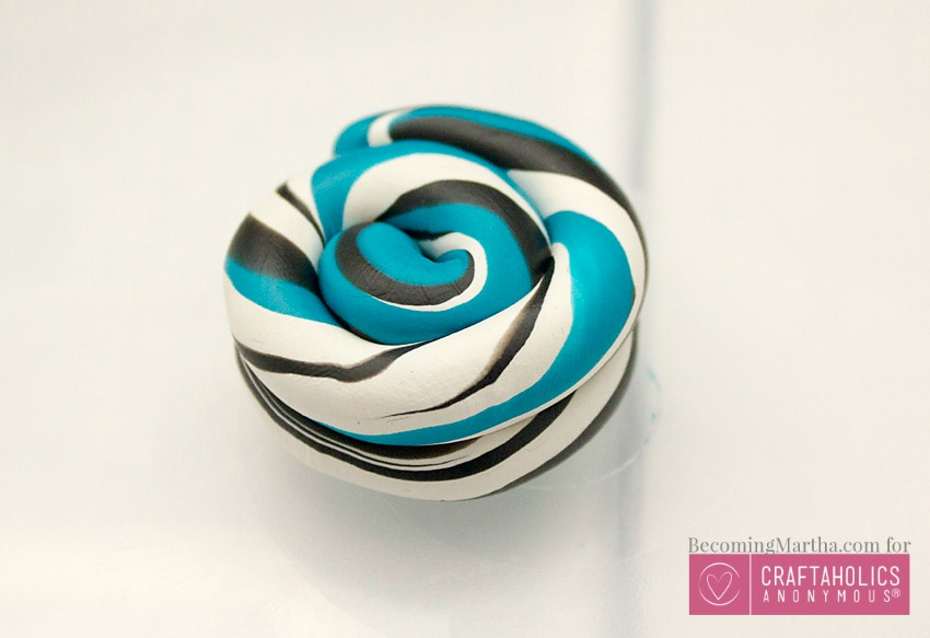 diy marbled clay tutorial