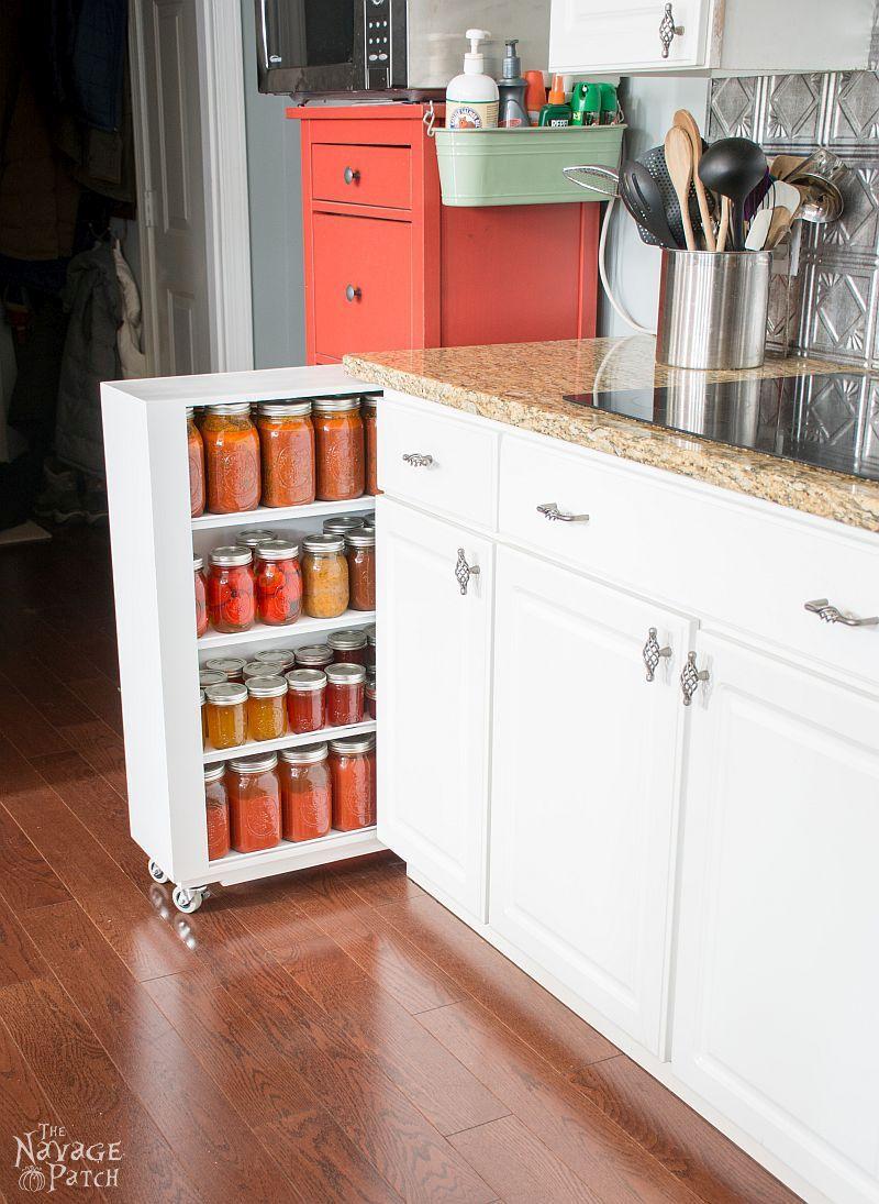 DIY Rolling Storage