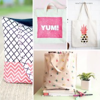 32 Colorful DIY Tote Bags For Summer Instagram
