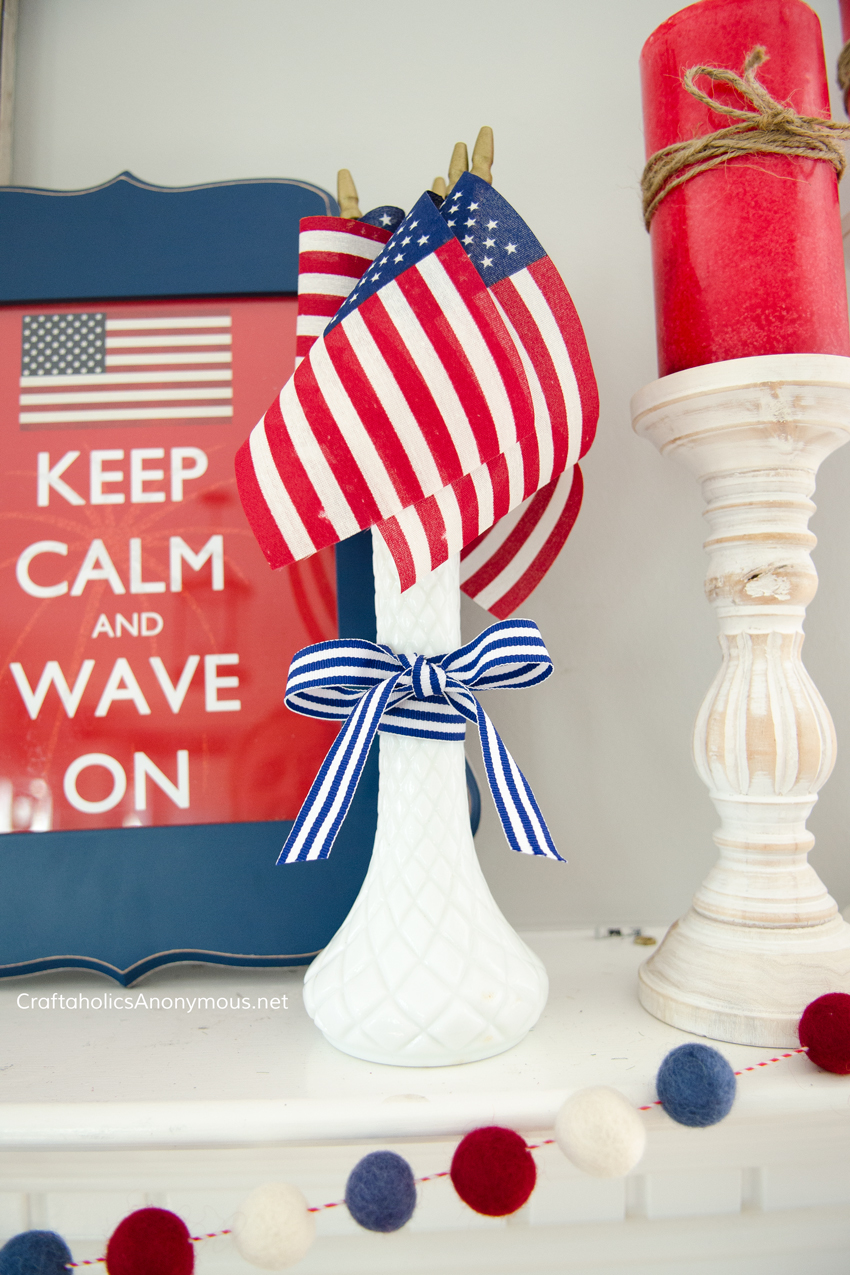 DIY 4th of July Decorating