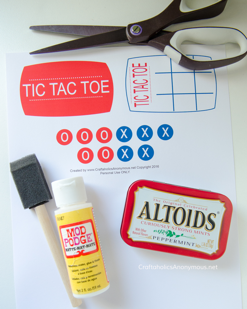 How to make pocket Tic Tac Toe Game. Great for Road Trips, traveling, church, etc. Great kids craft idea or gift idea.