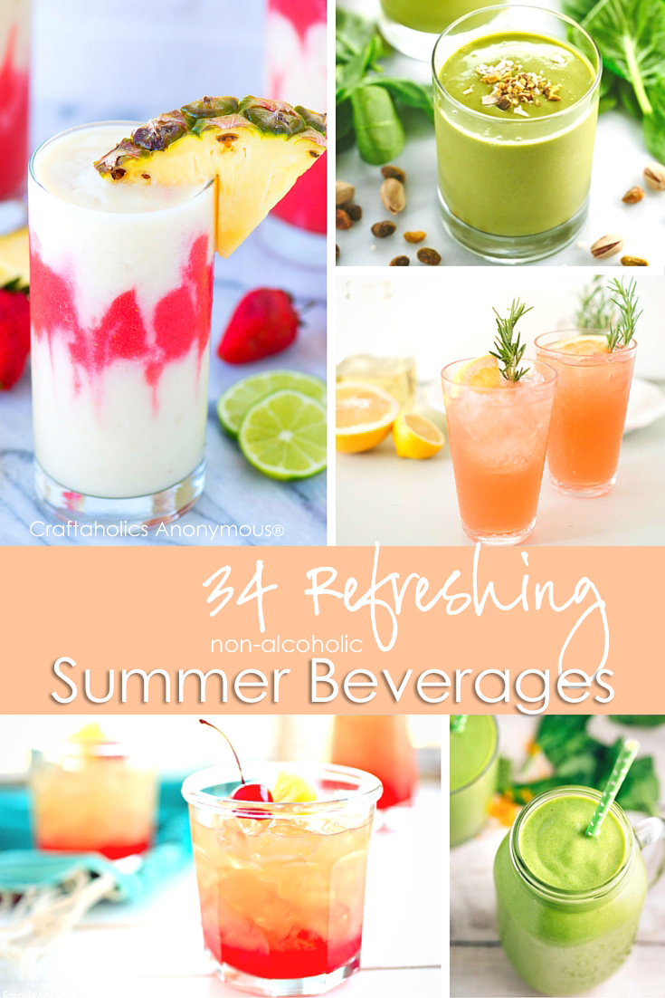 34 Refreshing Beverages for Summer