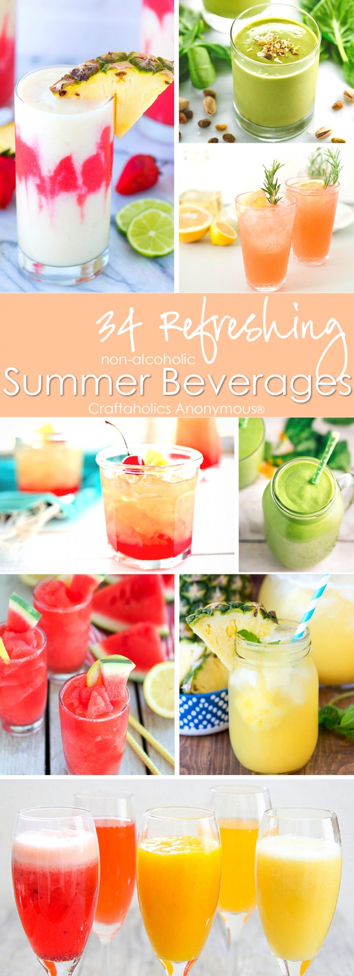 34 Refreshing Summer Beverages