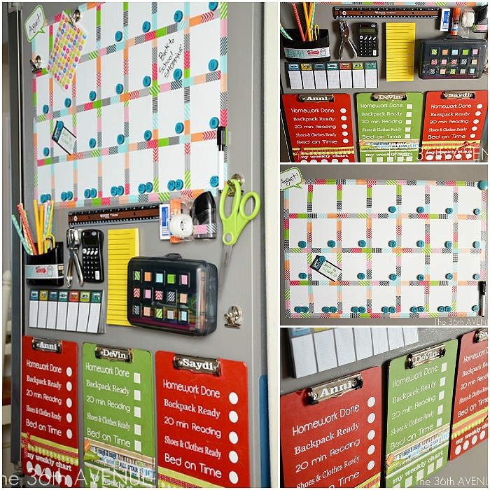 Craftaholics anonymous back to school organization tips - Back to school organization ...