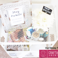 Stay Awhile: Guest Hospitality Cart