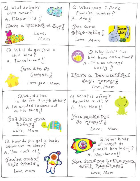 lunch box notes 9