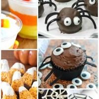 Preschool Halloween Treats Pinterest Collage 2
