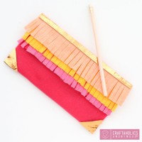 DIY No-Sew Pencil Case