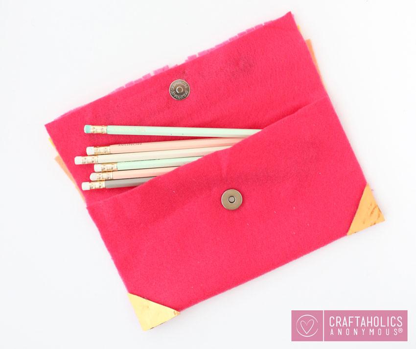 fringe pencil case