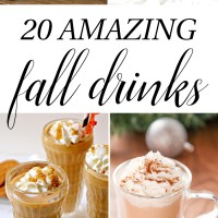 20 Amazing Fall Drinks - apple cider, pumpkin spice, lattes, frappuccinos, caramel, and spice - everything fall for your parties and cool nights! craftaholicsanonymous.net