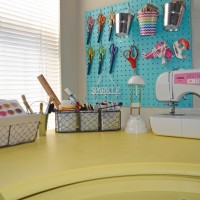Craft Room Tour with Coastal And Crafty