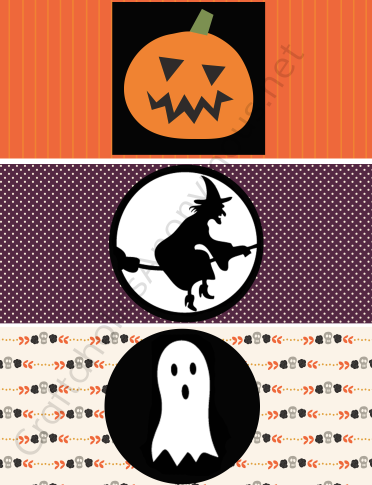 Free printable Halloween game - Tin Can Bowling