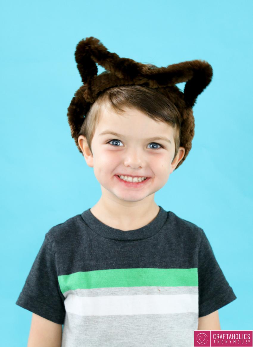Last Minute Halloween Headband Costumes