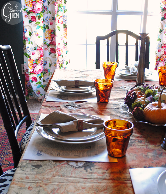 tablescape decor thanksgiving