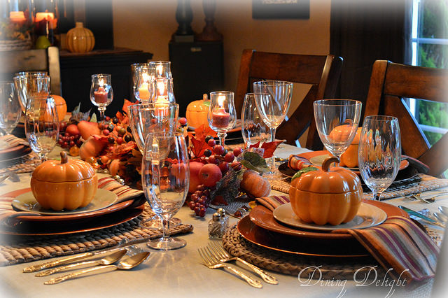tablescape decor ideas for thanksgiving