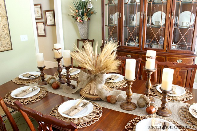 tablescape ideas