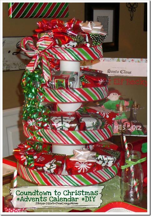 christmas countdown ideas advent calendars easy christmas. Black Bedroom Furniture Sets. Home Design Ideas