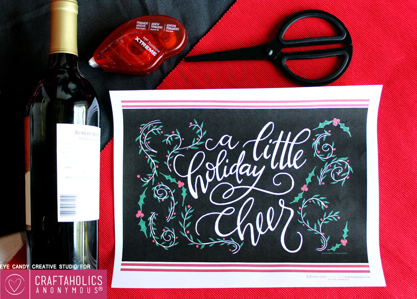 free holiday printable gift