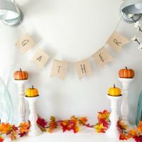 Thanksgiving Burlap Banner – Free Printable