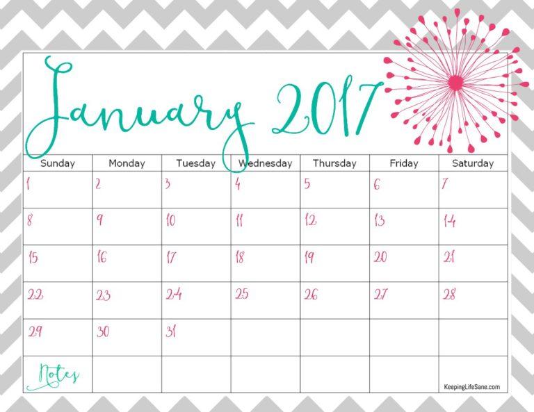 image regarding Calendars Printable Free named Absolutely free Printable 2017 Calendars Cost-free Calendar 2017 Calendar